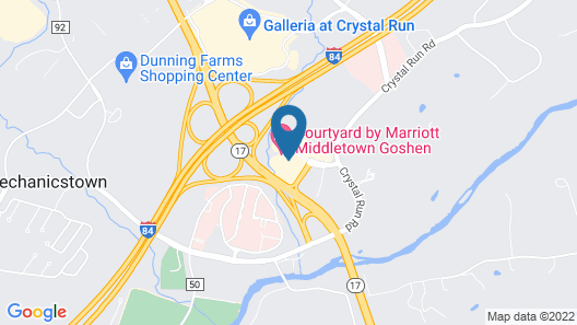 Microtel Inn & Suites by Wyndham Middletown Map