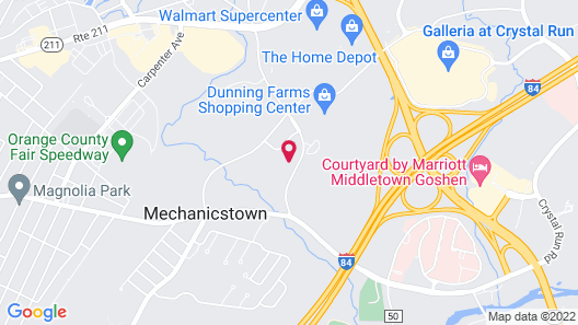 Tru by Hilton Middletown Map