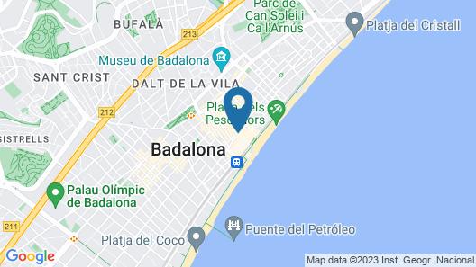 Hotelito Boutique Badalona Map
