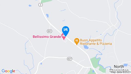 Bellissimo Grande Hotel Map