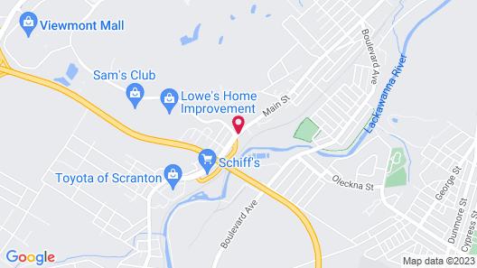 Microtel Inn & Suites by Wyndham Dickson City/Scranton Map