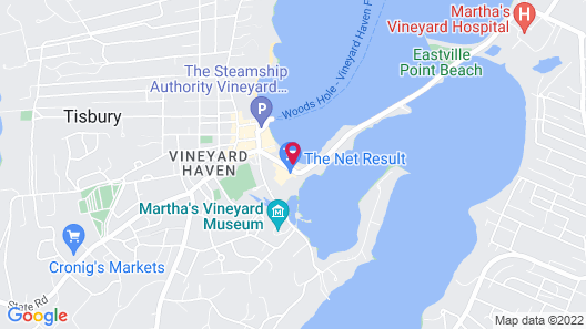 Vineyard Harbor Motel Map