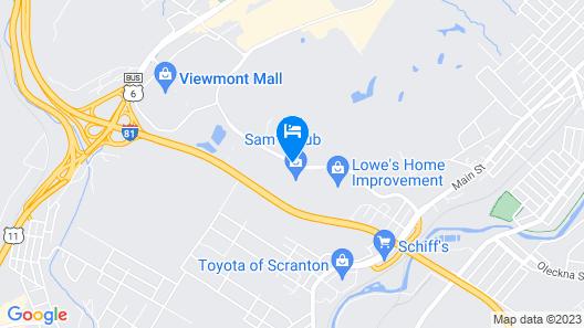 Fairfield Inn by Marriott Scranton Map