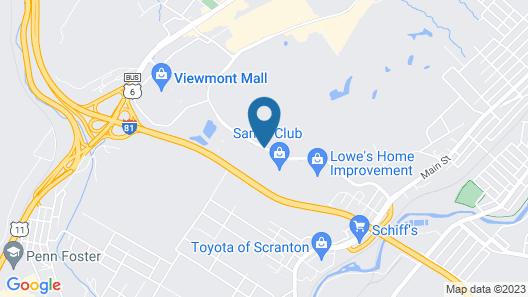 Residence Inn by Marriott Scranton Map