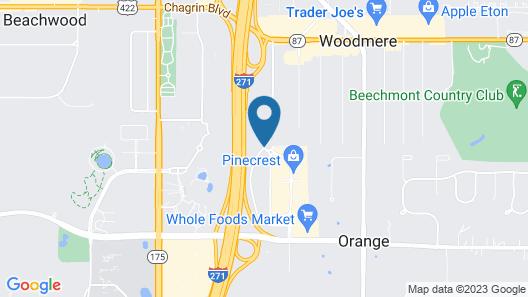 Hampton Inn & Suites Cleveland-Beachwood Map