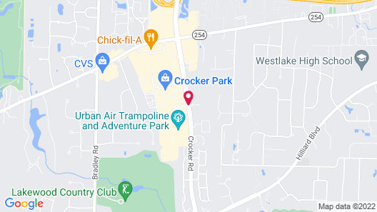 Hyatt Place Cleveland / Westlake / Crocker Park Map