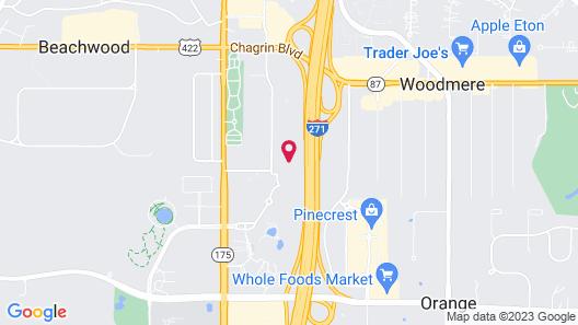 Embassy Suites by Hilton Cleveland Beachwood Map