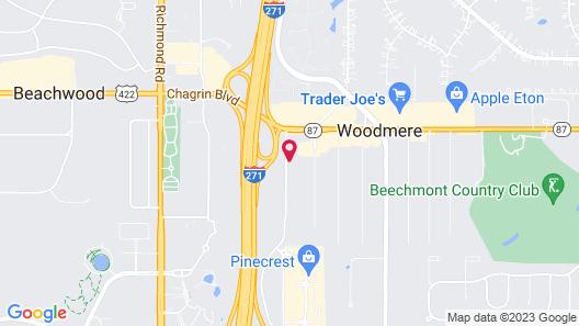 Extended Stay America Suites Cleveland Beachwood Orange Pl N Map