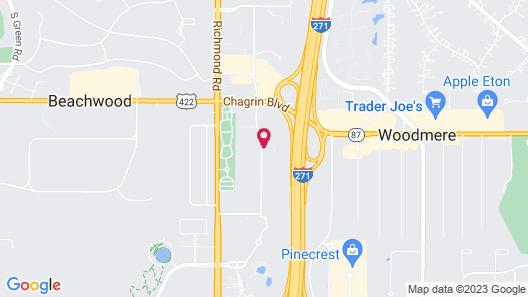 DoubleTree by Hilton Cleveland East Beachwood Map