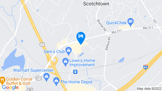 Home2 Suites by Hilton Middletown Map