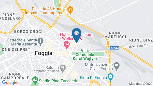 Hotel Cicolella Map