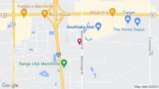 Holiday Inn Express & Suites Merrillville, an IHG Hotel Map