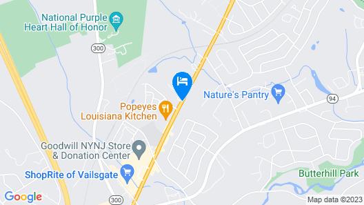 Econo Lodge Near Stewart Inter Map