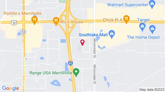 Staybridge Suites Merrillville, an IHG Hotel Map