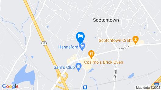 Residence Inn by Marriott Middletown Goshen Map