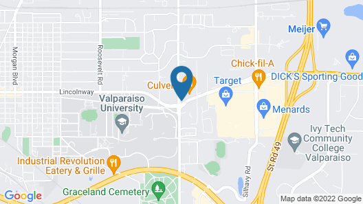 Country Inn & Suites by Radisson, Valparaiso, IN Map