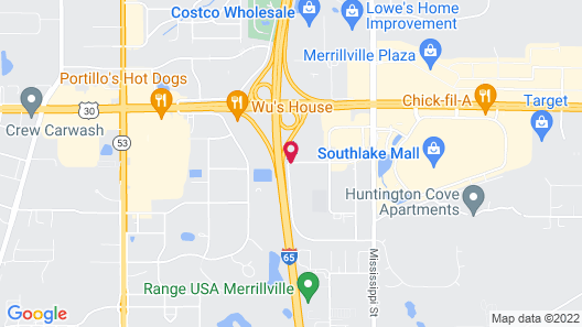 Country Inn & Suites by Radisson, Merrillville, IN Map