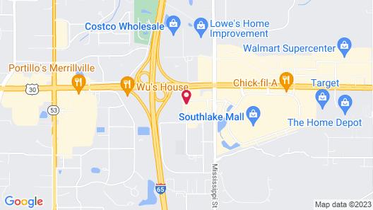 La Quinta Inn by Wyndham Merrillville Map