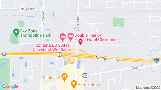 Red Roof Inn Cleveland - Westlake Map