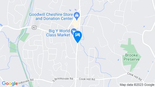 Cheshire Welcome Inn Map