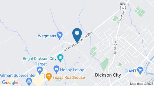 Days Inn by Wyndham Scranton PA Map