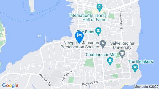The Newport Lofts - 617 Thames Street Map