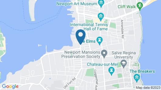 The Newport Lofts - 548 Thames Street Map