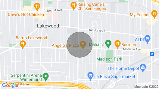 Rock and Roll House of Fame! Map