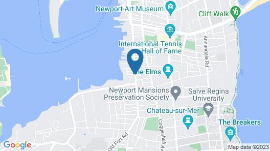 The Newport Lofts – 543 Thames Street Map