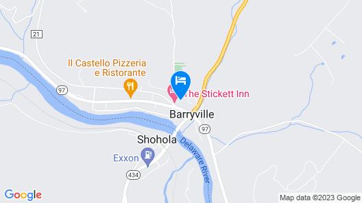 Stickett Inn Map
