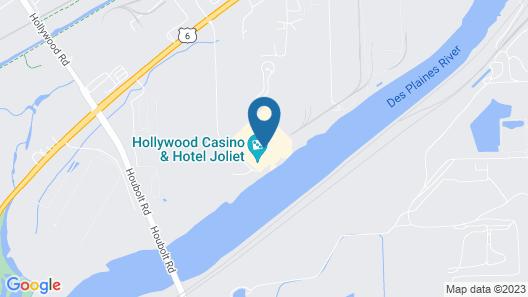 Hollywood Casino Joliet Map