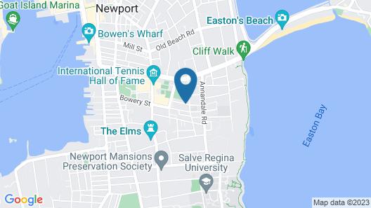 Admiral Weaver Inn Map