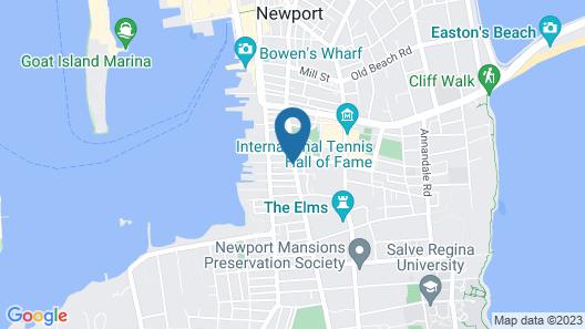 The Newport Lofts – 353 Spring Street Map
