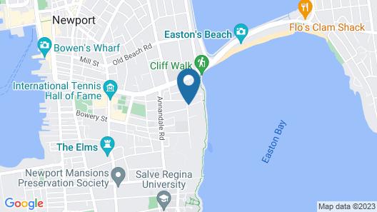 Cliffside Inn  Map