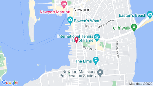 Admiral Fitzroy Inn Map