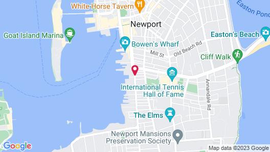 Harborside Inn Map