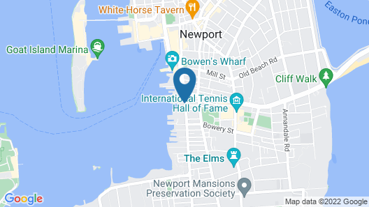 The Newport Lofts - 359 Thames Street Map
