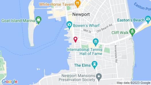 The Newport Lofts - 364 Thames Street Map