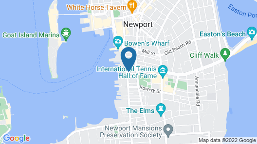 The Newport Lofts - 364 Thames Street Map