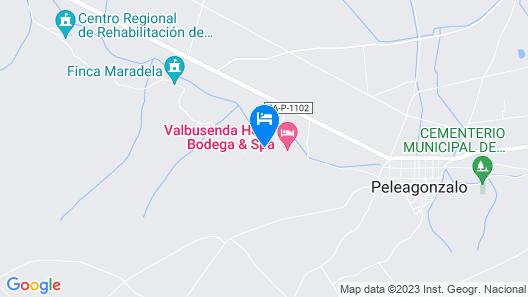 Eurostars Valbusenda Hotel Bodega & Spa Map