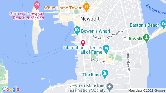 Newport Bay Club and Hotel Map