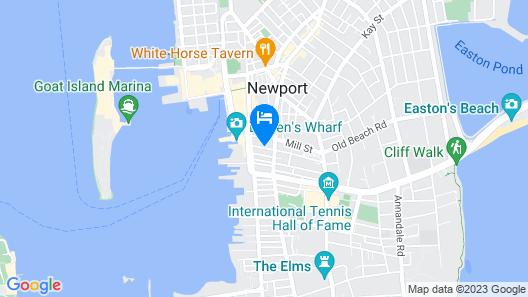 Almondy Inn Map