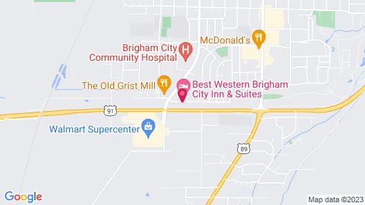 Best Western Brigham City Inn & Suites Map