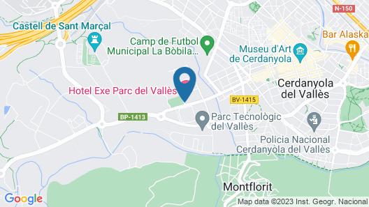 Exe Parc del Vallés Map