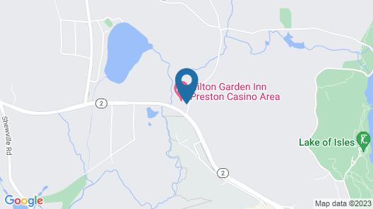 Hilton Garden Inn Preston Casino Area Map