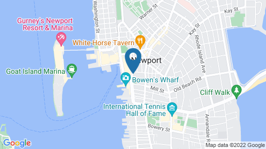 Newport Lofts - 194 Thames Street Map