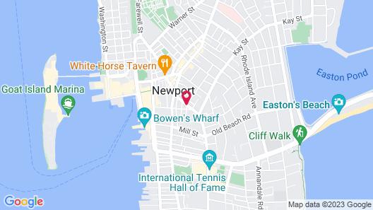Yankee Peddler Inn Map