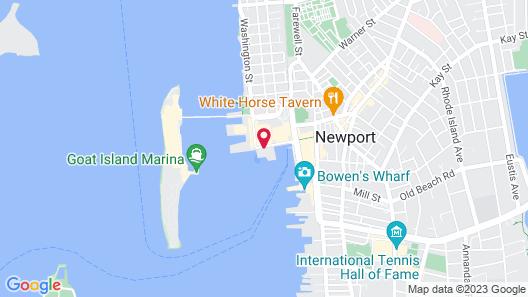 Club Wyndham Inn on Long Wharf Map