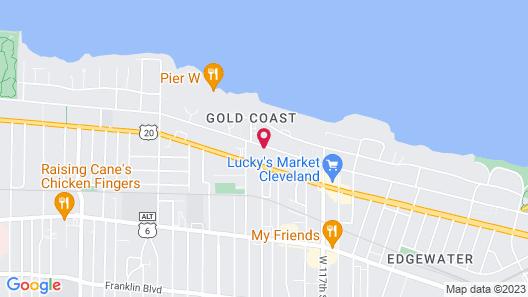 Days Inn by Wyndham Cleveland Lakewood Map