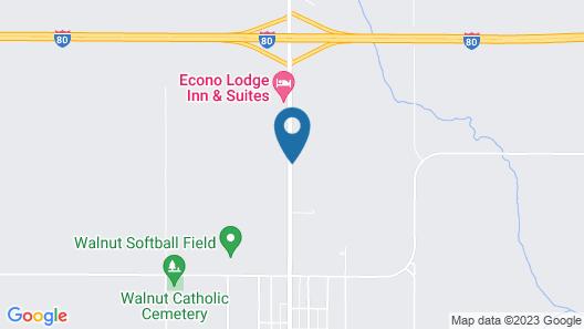 Super 8 by Wyndham Walnut Map